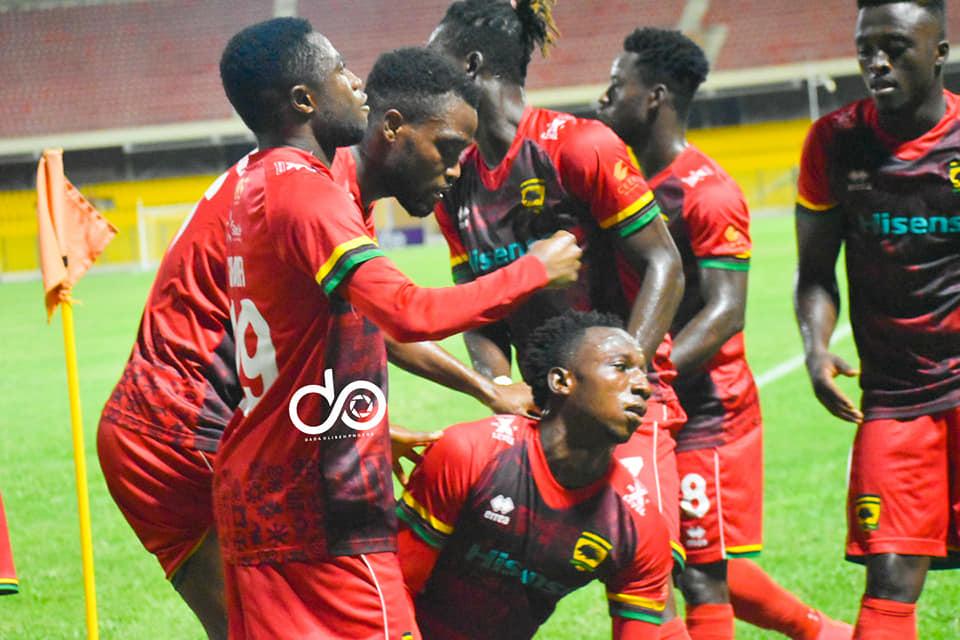 2020/21 Ghana Premier League: Week 5 Match Report- Asante Kotoko 1-0 Legon Cities
