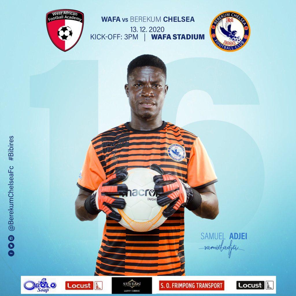 2020/21 Ghana Premier League: Live Updates- WAFA vs Berekum Chelsea
