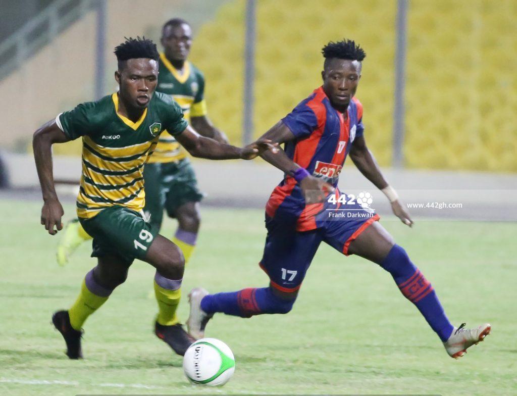 2020/21 Ghana Premier League: Pictures- Legon Cities 1-2 Ebusua Dwarfs