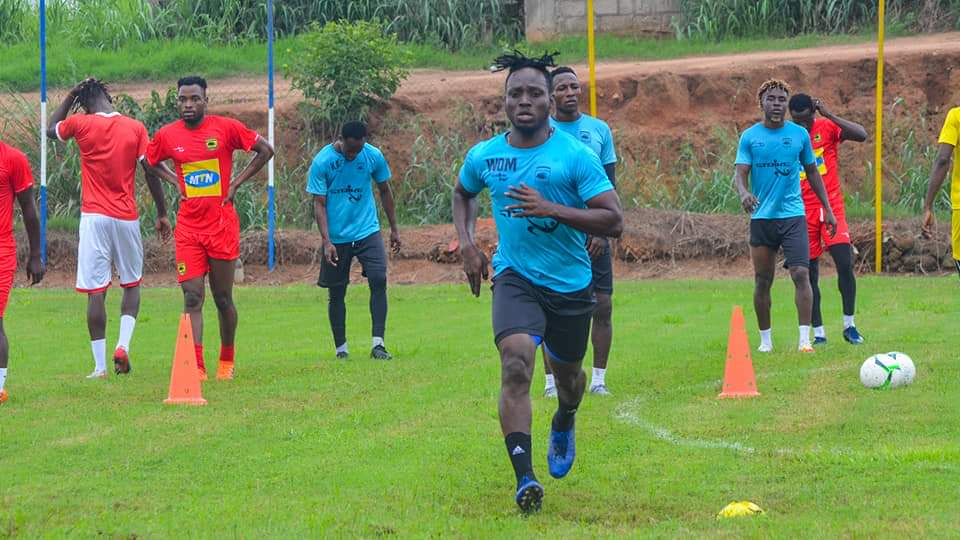 Asante Kotoko to part ways with striker William Opoku Mensah