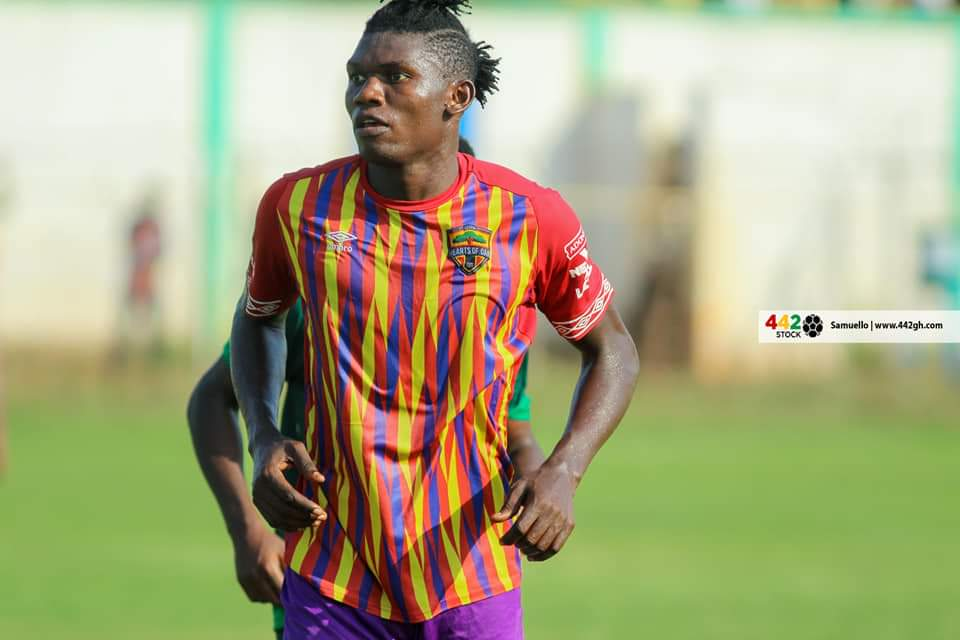 Hearts of Oak defender Raddy Ovouka nominated for Congolese footballer of the year 2020 award