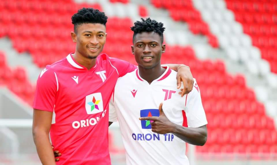 BREAKING News! Accra Lions announce transfer of youngsters Rahim Ibrahim and Joseph Amoah to Slovakian giants AS Trencin