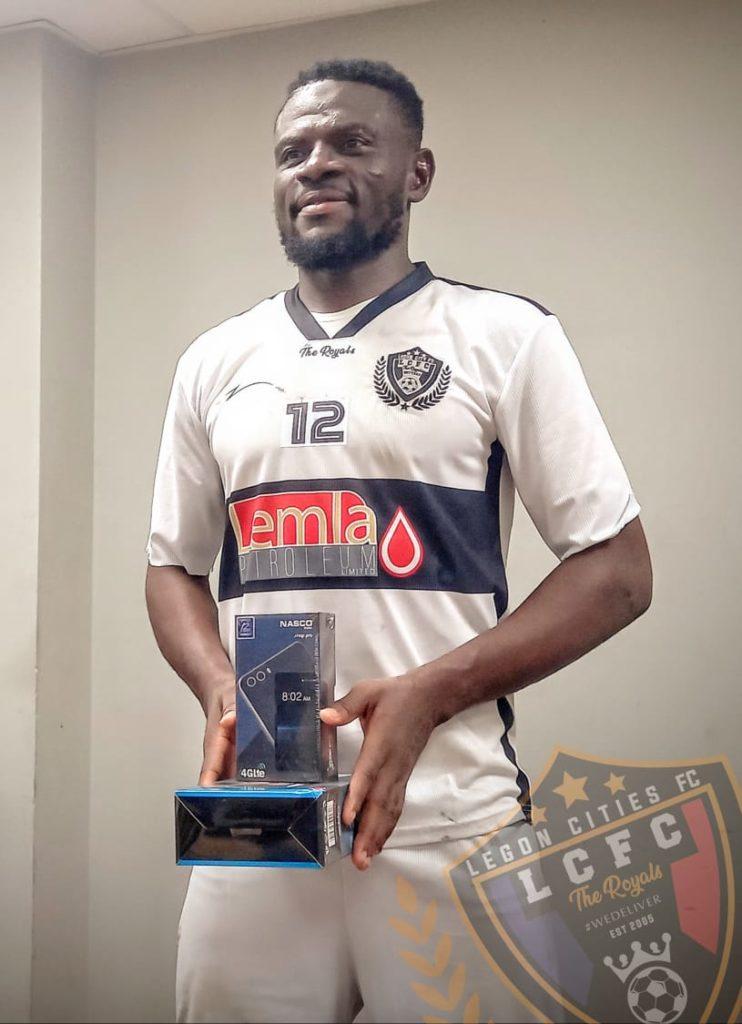 2020/21 Ghana Premier League:Fatau Dauda named Man of the Match in Legon Cities defeat to Asante Kotoko