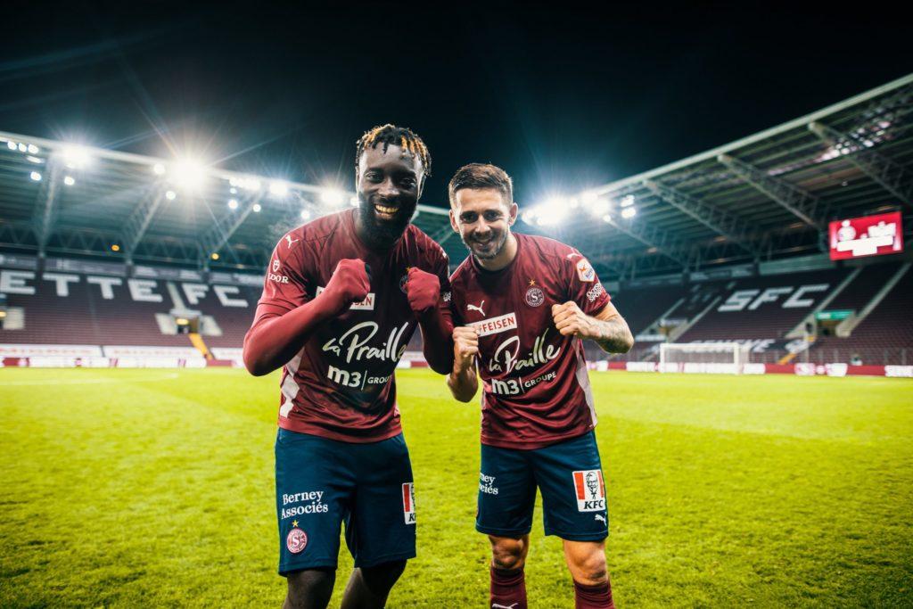 VIDEO: Grejohn Kyei scores as Servette beat St Gallen