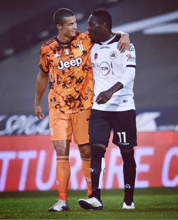 """Meeting Cristiano Ronaldo was an incredible emotion – Emmanuel Gyasi"