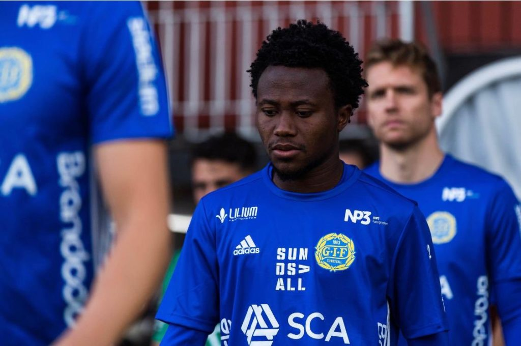 Hammarby impressed by Abdul Halik Hudu's loan stint with GIF Sundsvall