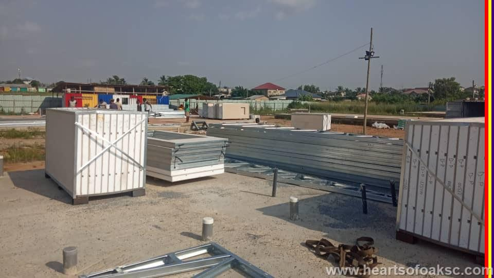 Phase Two of Hearts of Oak Pobiman Academy Project takes off