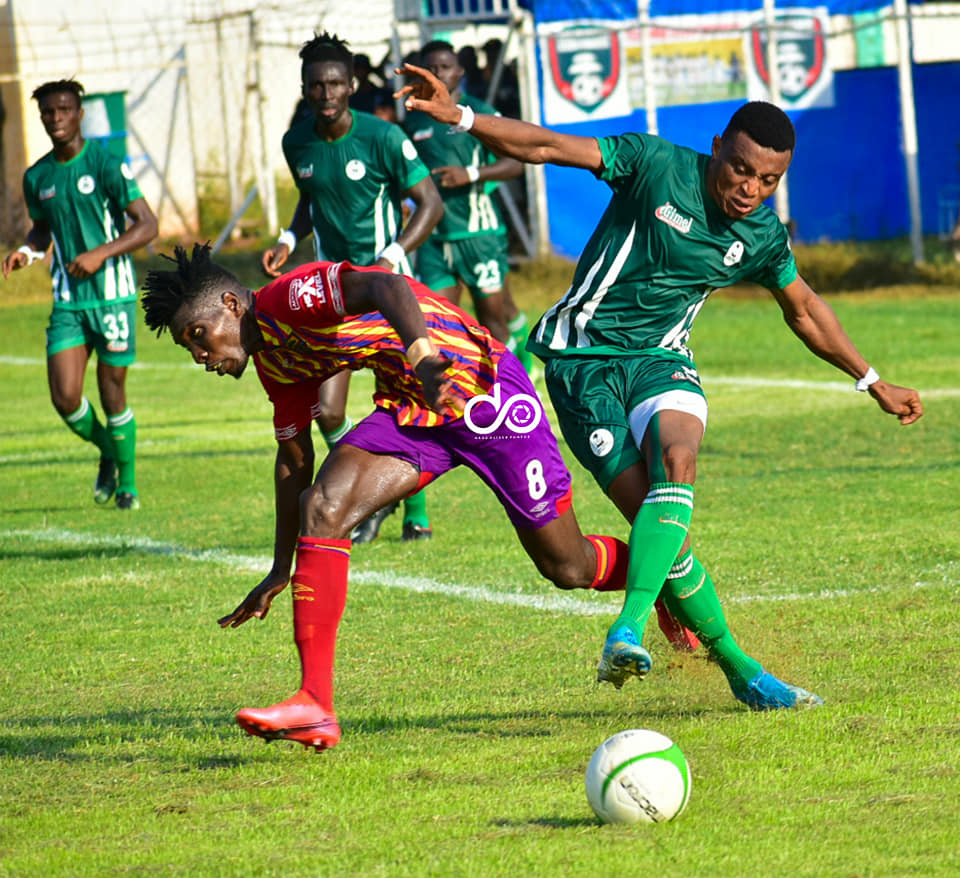 2020/21 Ghana Premier League: PICTURES- King Faisal 1-2 Hearts of Oak