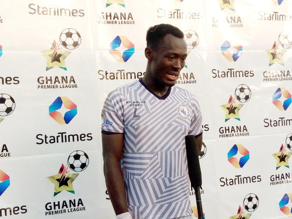 2020/21 Ghana Premier League: Berekum Chelsea defender Henry Ainsu wins MVP award after solid performance against Aduana Stars