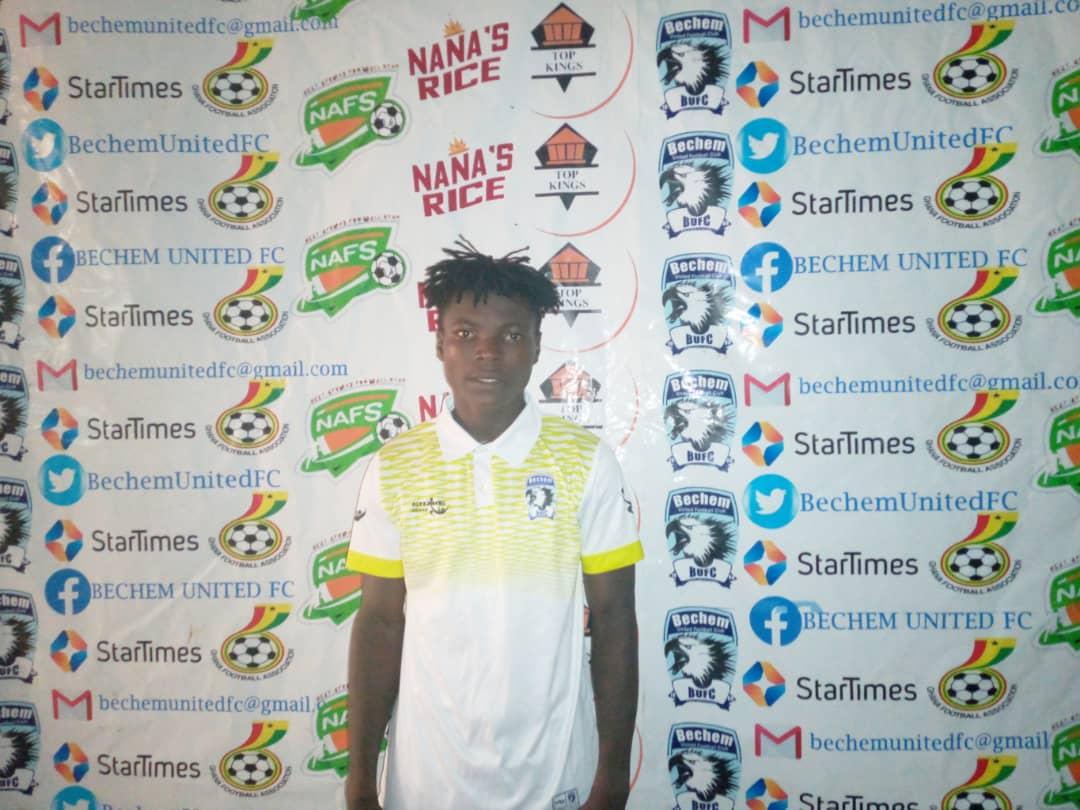 2020/21 Ghana Premier League: Bechem United midfielder Francis Twene wins MVP award in win over AshantiGold