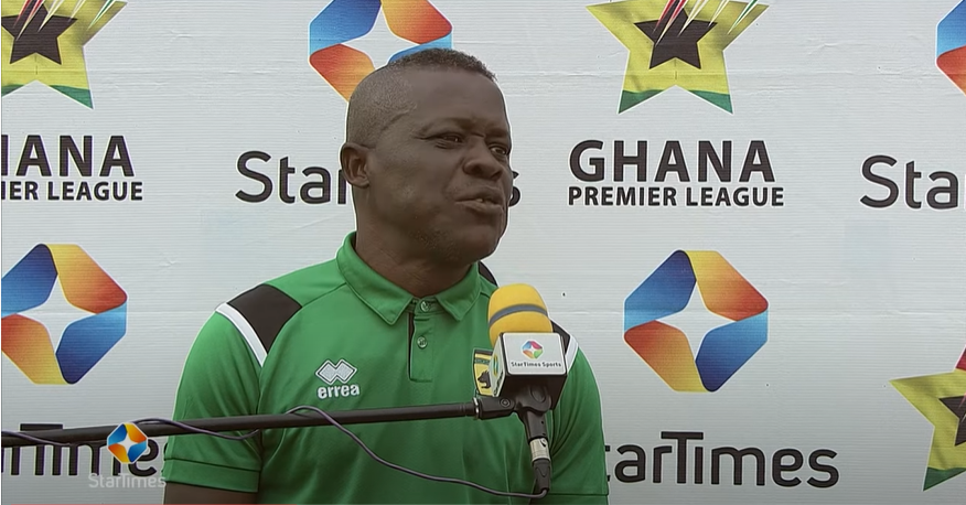 'I put in pressure'- Interim Kotoko coach Johnson Smith reveals secret behind victory over Dreams
