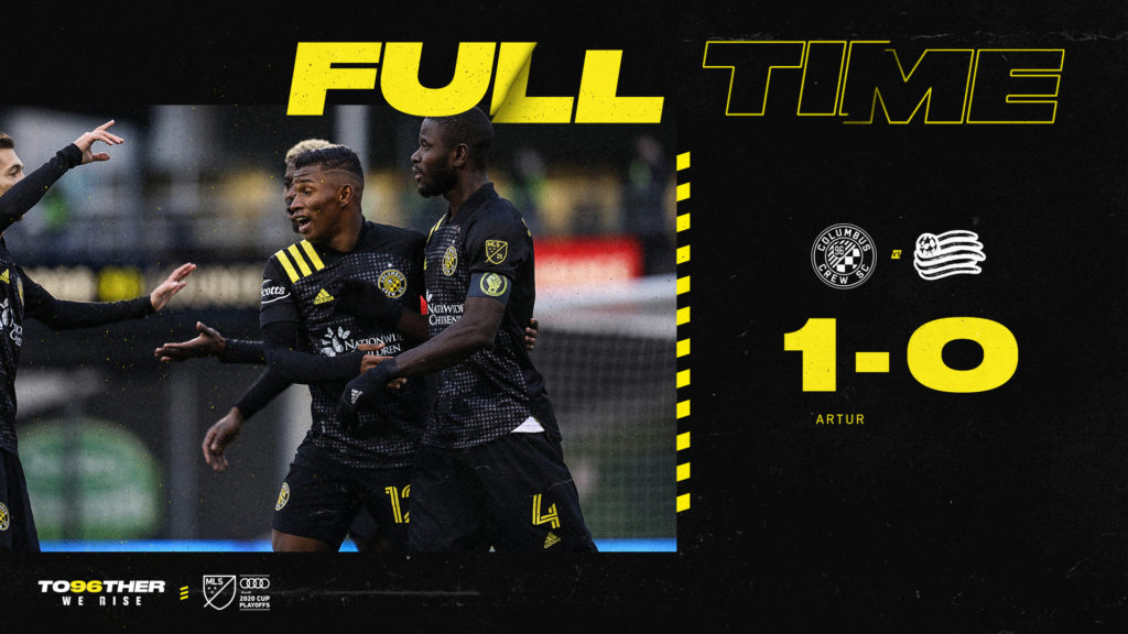 VIDEO: Jonathan Mensah provides assists as Columbus Crew win MLS Eastern Conference final