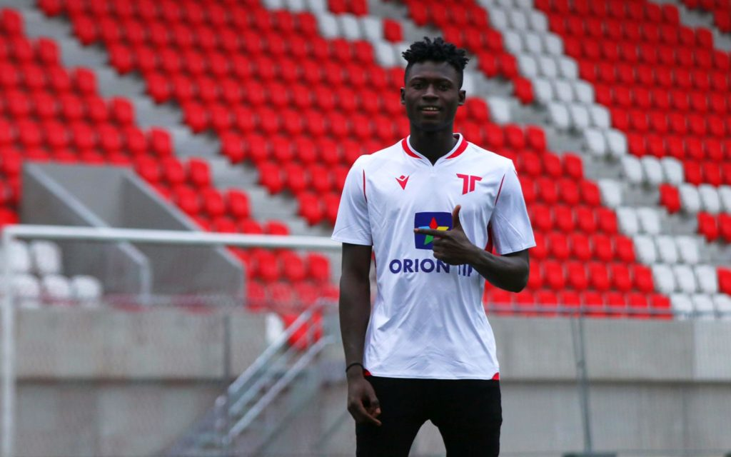 Slovakia top-flight side grab talented Ghana U20 winger Joseph Amoah