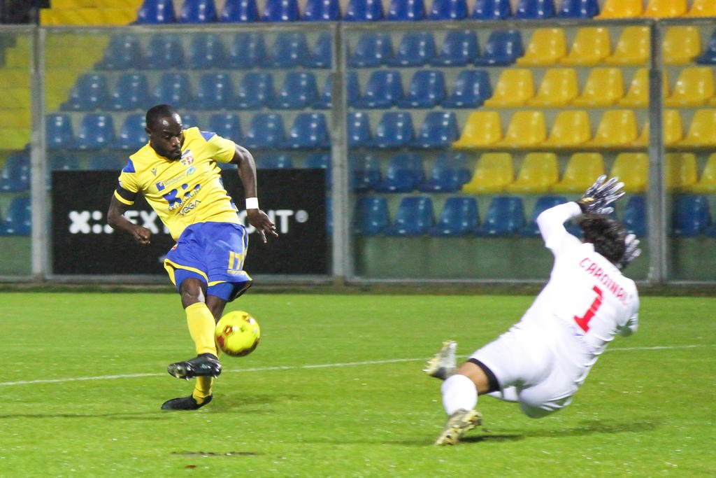 Fermana forward Kingsley Boateng praises 'team character' after draw against Matelica