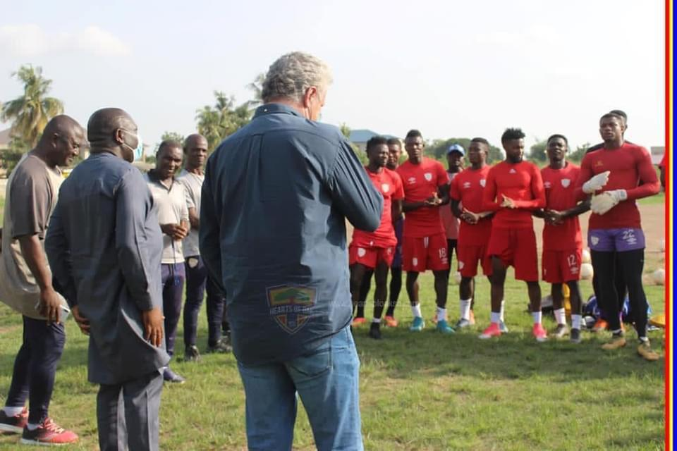 Kosta Papic furious with Hearts of Oak players despite Bechem United mauling