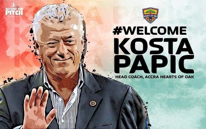 Hearts confirm Serbian trainer Kosta Papic as new head coach
