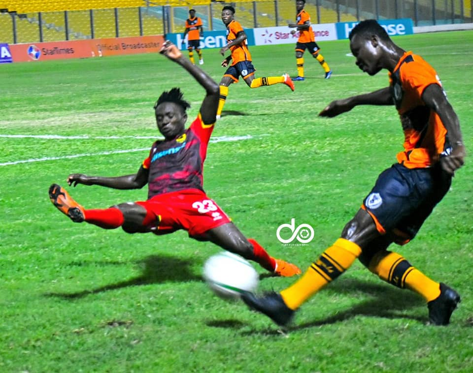 2020/21 Ghana Premier League: Pictures- Asante Kotoko 1-0 Legon Cities