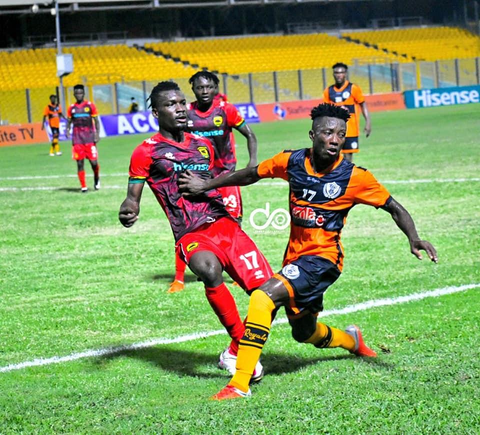 2020/21 Ghana Premier League: Highlights- Asante Kotoko 1-0 Legon Cities