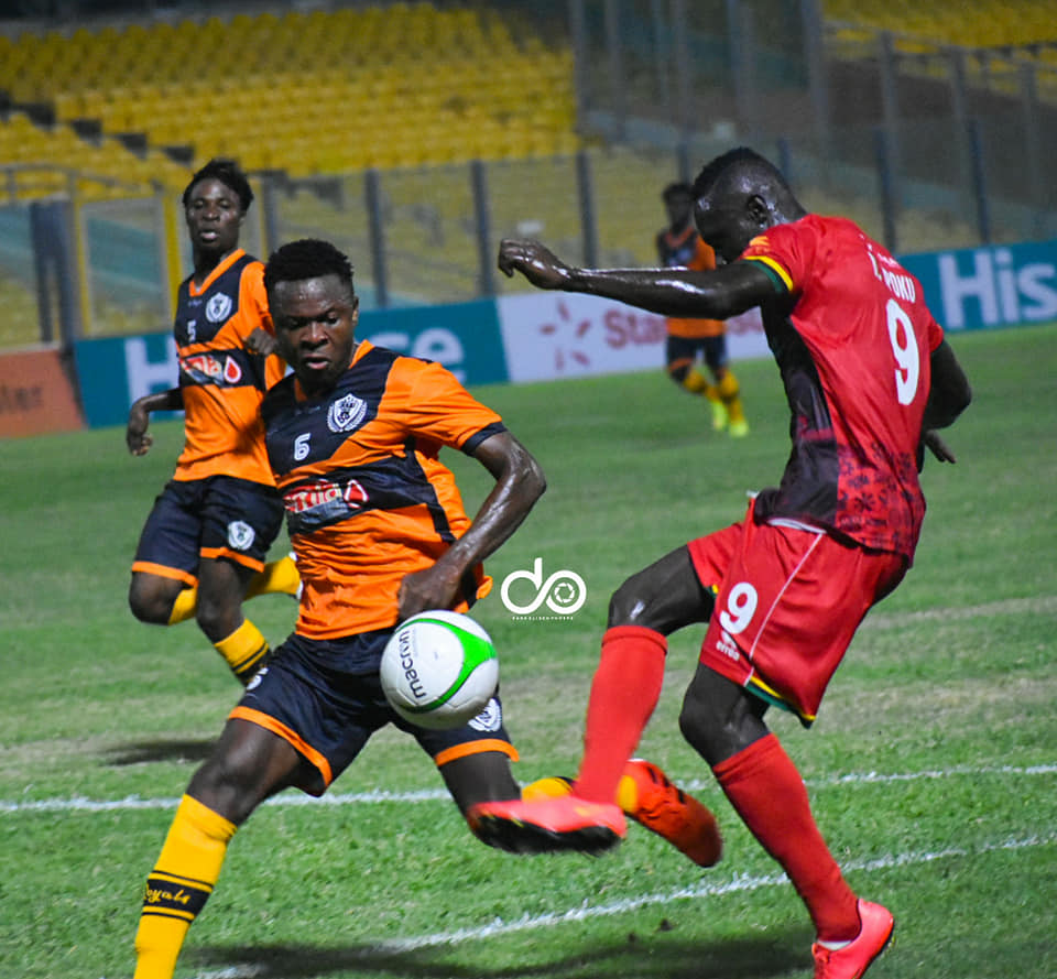 2020/21 Ghana Premier League: Live Updates- Asante Kotoko 1-0 Legon Cities
