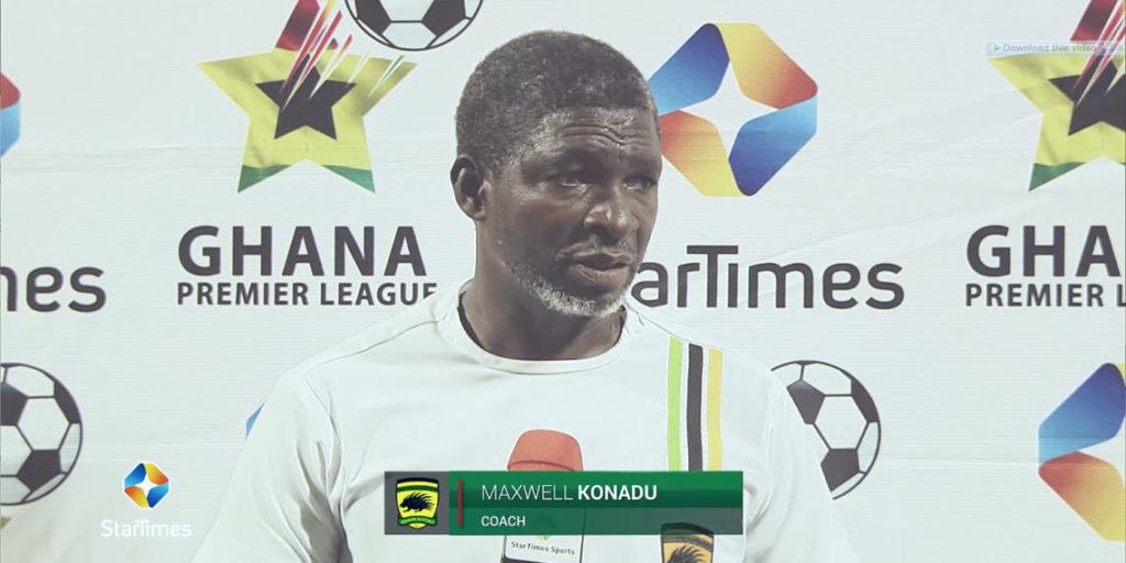 It was a difficult game against Legon Cities- Kotoko coach Maxwell Konadu