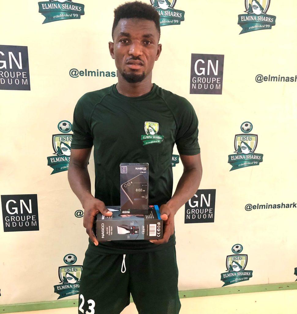 2020/21 Ghana Premier League: Issaka Mohammed wins MOTM as Elmina Sharks pip Inter Allies