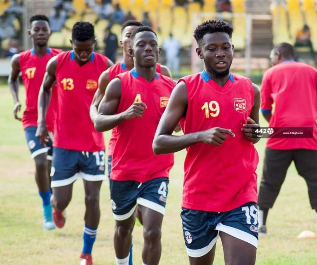 Liberty Professionals resume training after Christmas holidays