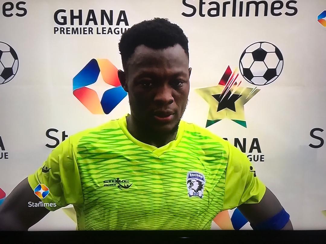 2020/21 Ghana Premier League: Bechem United captain Moro Salifu wins Man of the Match award against Karela United