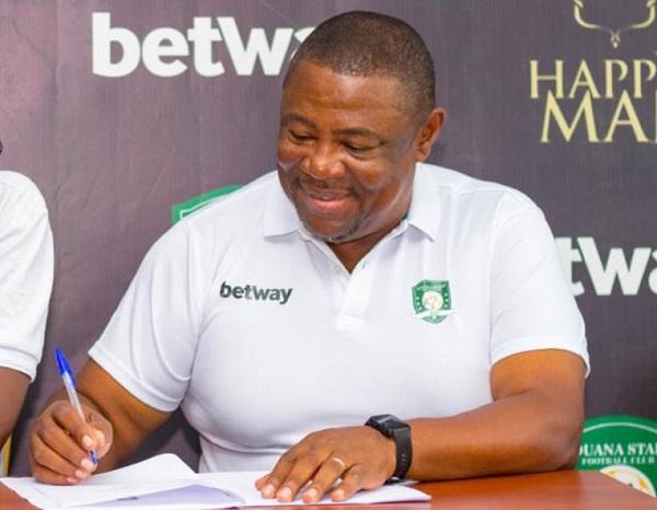 Aduana Stars coach Paa Kwesi Fabin doesn't fear the sack