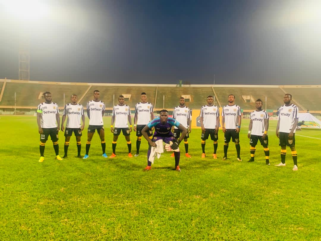 2020/21 CAF Confederation Cup: AshantiGold crash out of competition after defeat to Salitas in preliminary round 2nd leg