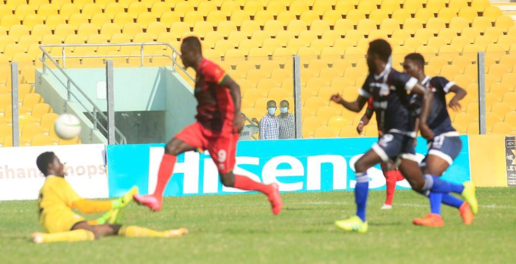 'I watch videos of Messi a lot'- Kotoko's Kwame Poku reveals inspiration behind lobbed goal against Liberty