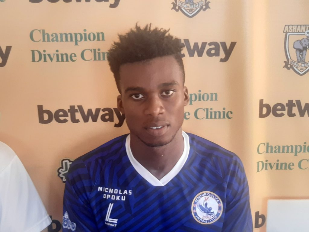 Berekum Chelsea midfielder Michael Quaicoo disappointed over defeat to AshantiGold