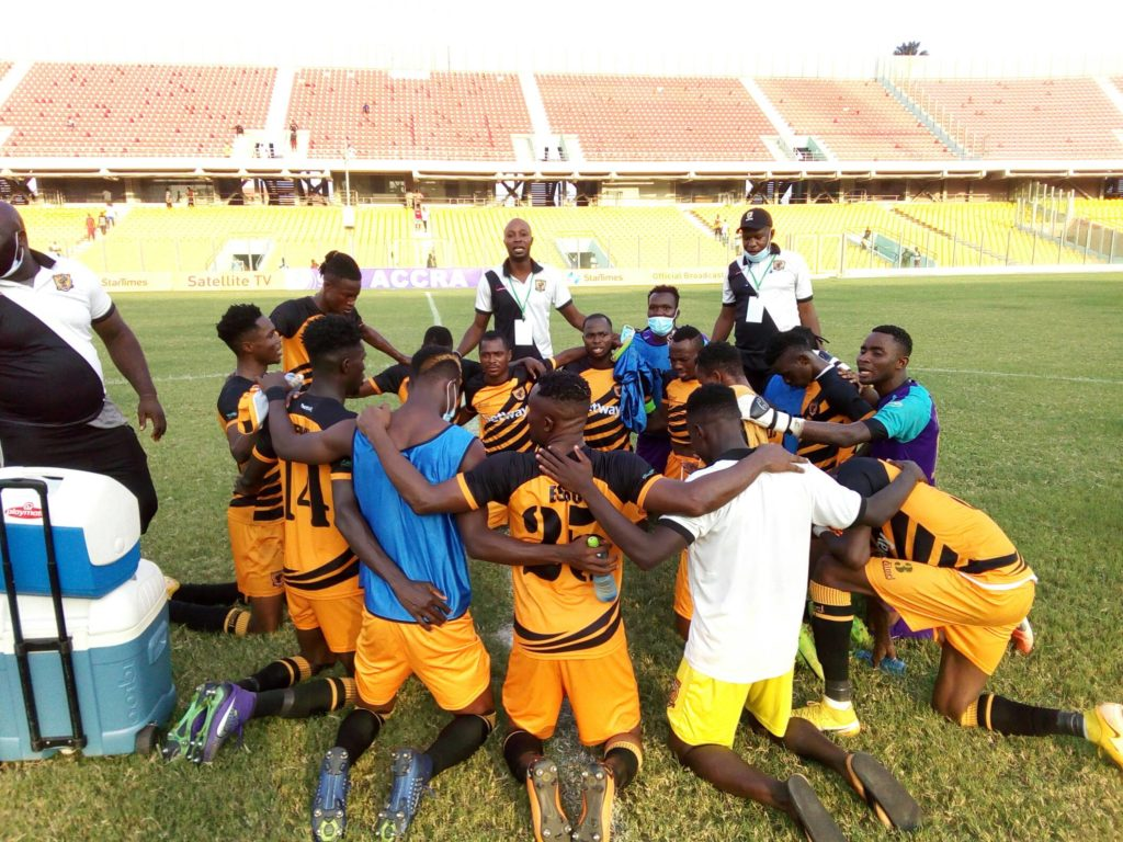 2020/21 Ghana Premier League: Week 8 Match Report - Great Olympics 1-2 AshantiGold