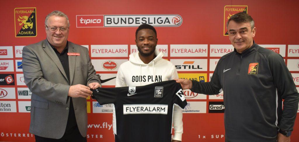 Ghanaian midfielder David Atanga joins Austrian side Flyeralarm Admira on loan