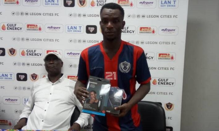 2020/21 Ghana Premier League: Legon Cities playmaker Baba Mahama wins MVP award in AshantiGold 5-2 drubbing