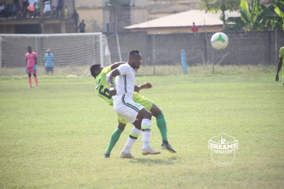2020/21 Ghana Premier League: Week 9 Match Report- Bechem United 1-1 Dreams FC