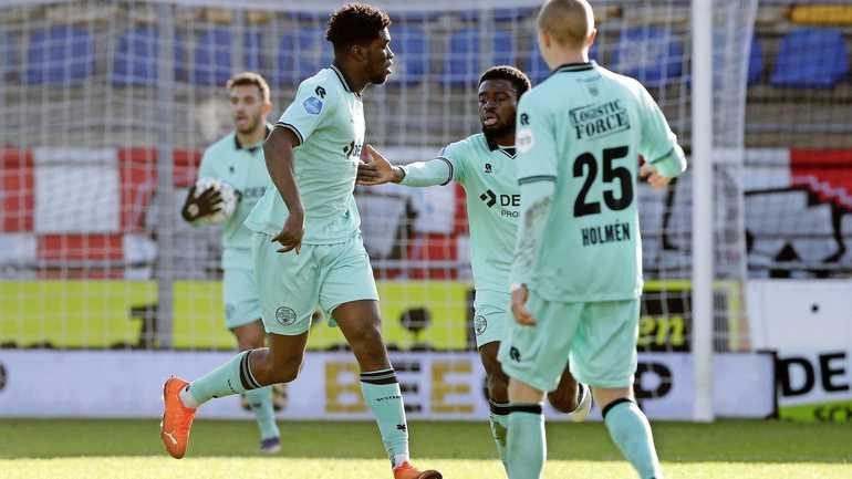 Ghanaian Okyere Wriedt earns point for Willem II against Waalwijk in Netherlands
