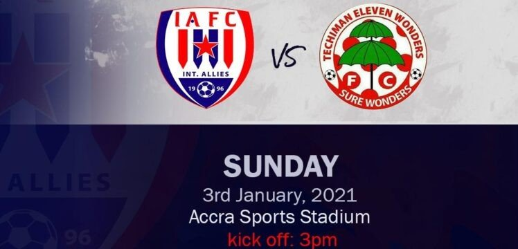 Preview – Inter Allies v Eleven Wonders – Accra‬