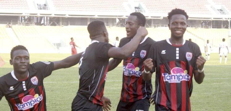 Summary – Inter Allies 1-0 Eleven Wonders – Accra
