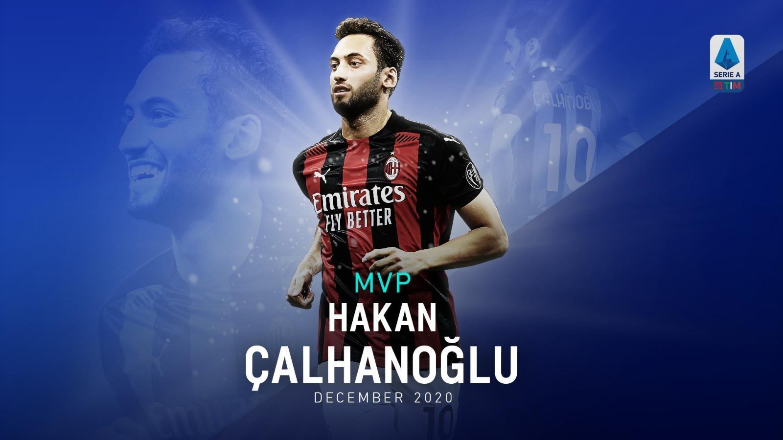 HAKAN CALHANOGLU MVP OF DECEMBER