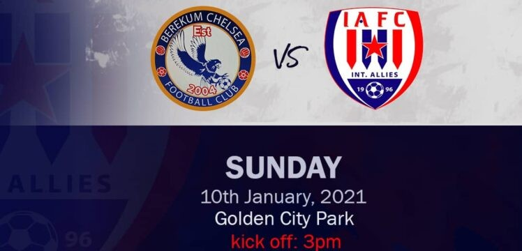 ‪ ‪Preview – Berekum Chelsea v Inter Allies – Golden City