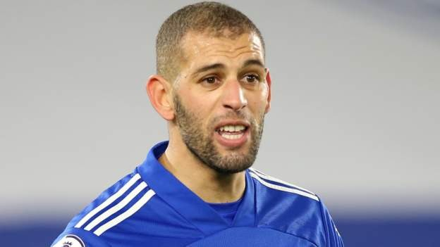 Slimani joins Lyon from Leicester on free