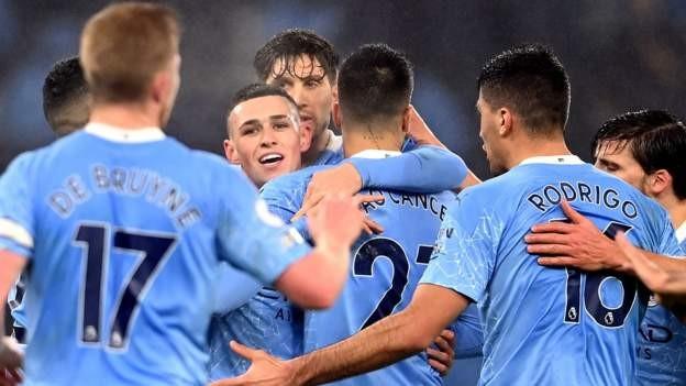 Man City beat Brighton to extend unbeaten run