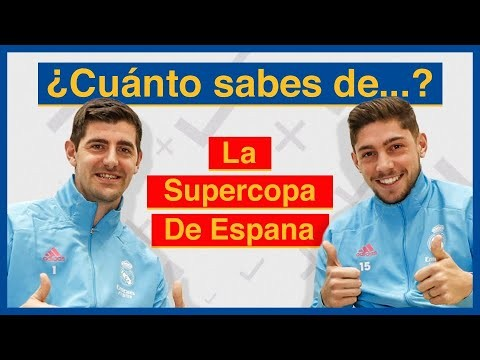 🧐 Spanish Super Cup QUIZ! | Courtois 🆚 Valverde