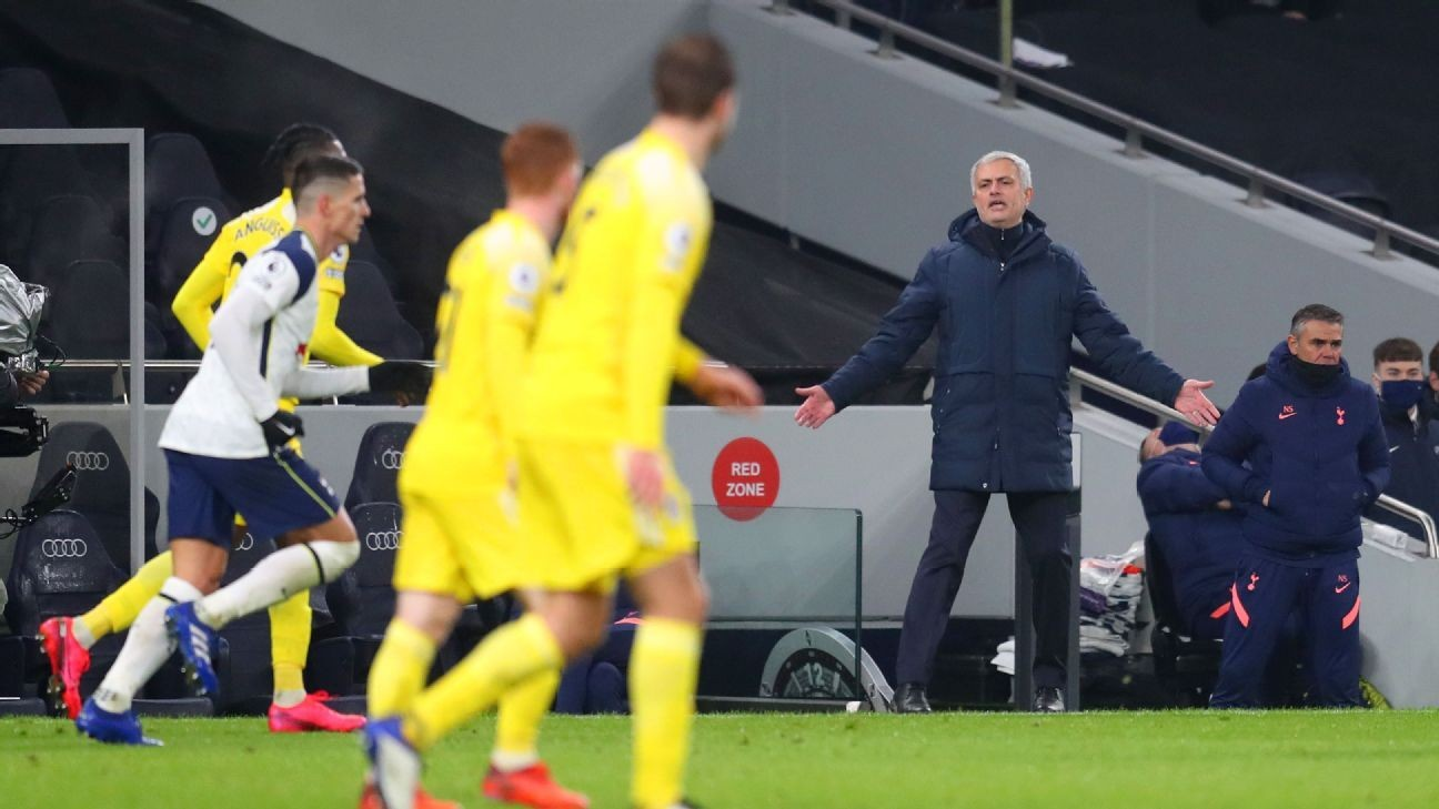 Mourinho laments: Spurs can't 'kill the game'