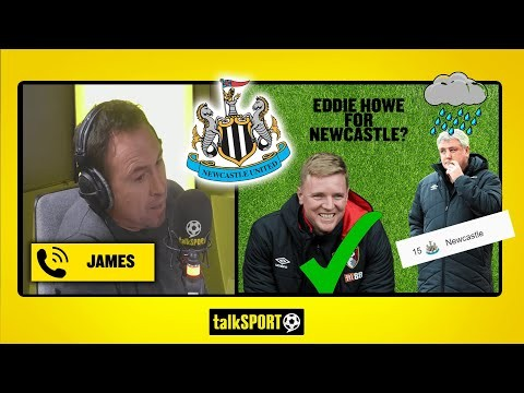 """STEVE BRUCE WILL GET US RELEGATED!"" NEWCASTLE UNITED fan calls for EDDIE HOWE to become manager!"