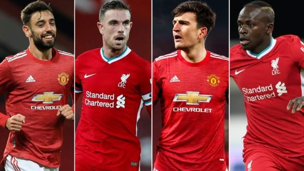 Pick your combined Liverpool-Man Utd XI