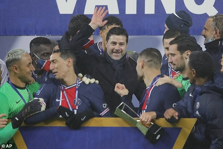 Pochettino says 'this is only the beginning' after winning first trophy as coach