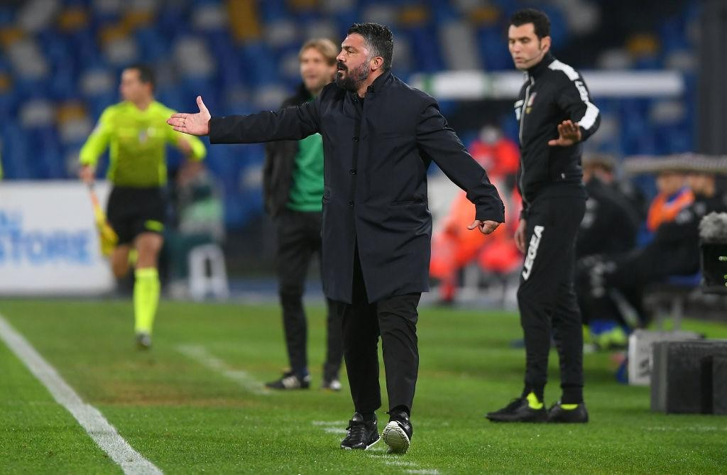 "GATTUSO: ""I'M PLEASED WITH THE DISPLAY AND THE WAY THE TEAM DUG IN"""