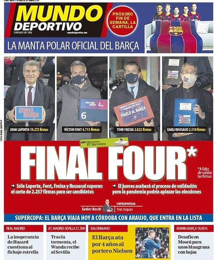 Barca presidential election Q&A: Vote could be delayed by Covid lockdown rules