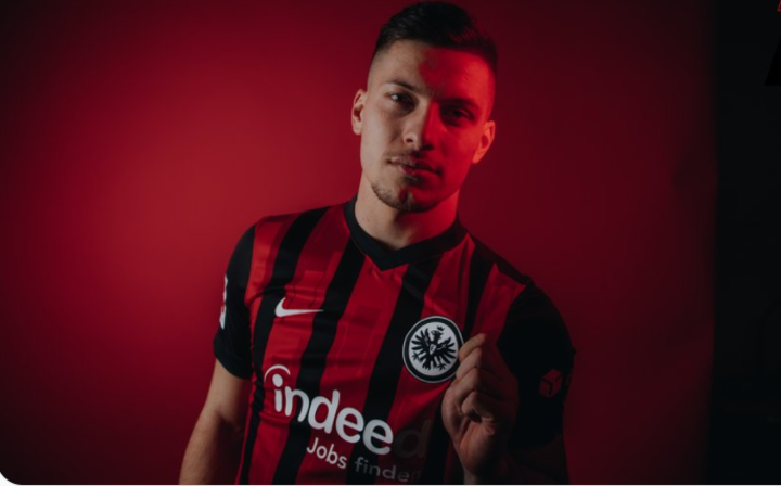 OFFICIAL: Luca Jovic rejoins to Frankfurt on loan from Real Madrid